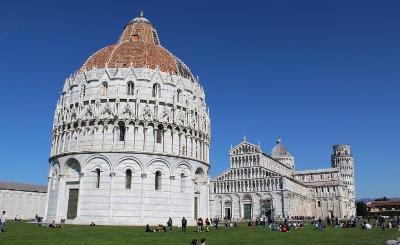 Pisa: the Baptistery