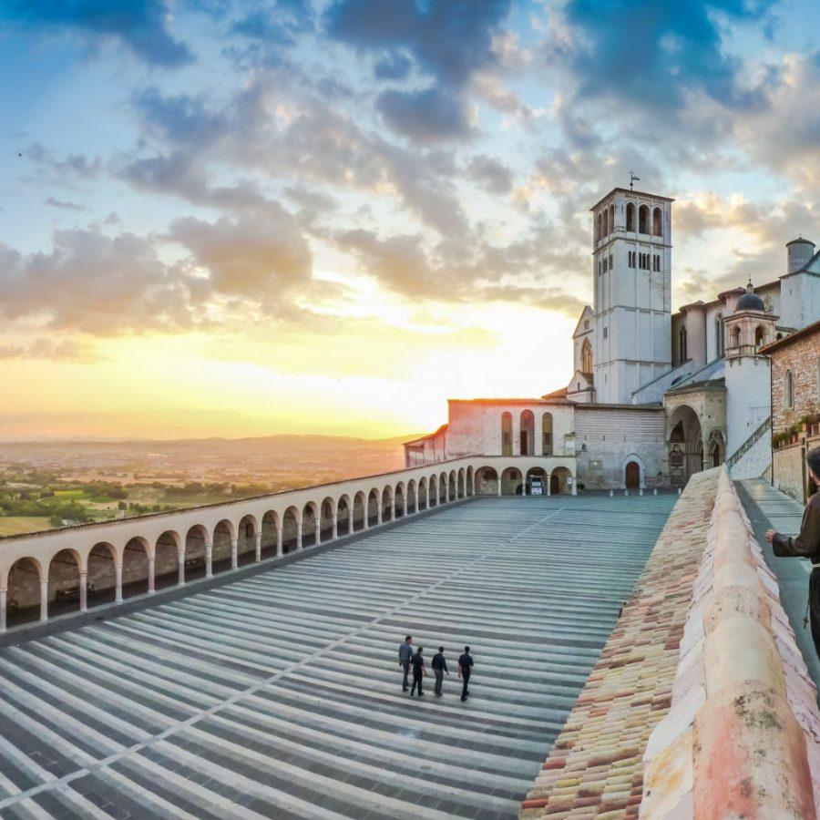 Assisi: the Basilica S. Francis