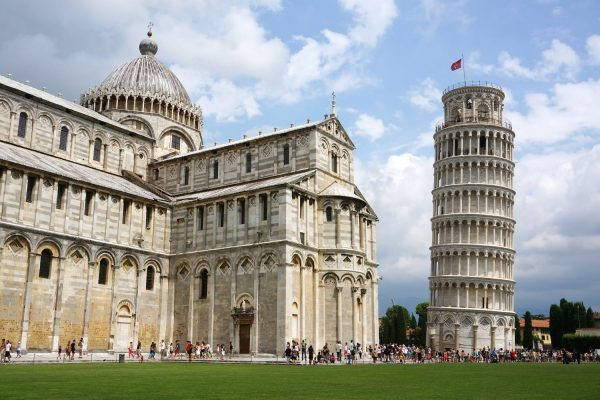 Pisa: the Leaning tower and the Cathedral